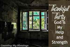 When life is hard and you don't know what to do or where to turn it's comforting to know God is our Help . . . the perfect loving parent.