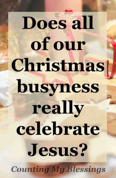 During this the busiest time of the year I'm asking myself . . . Why do you celebrate Christmas Do you know Looking at the whys behind the business..