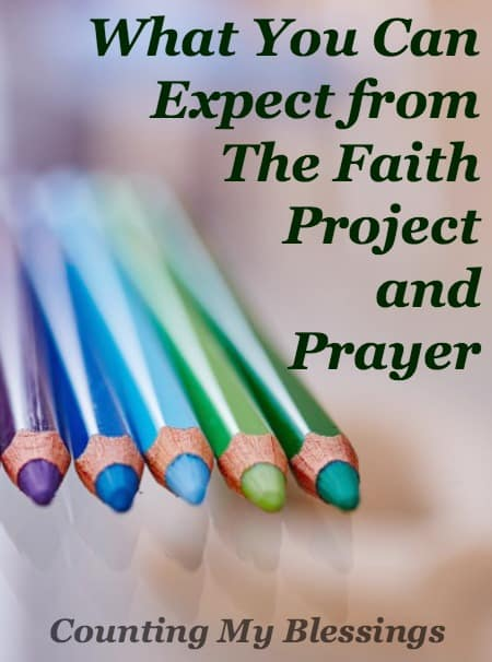 More than just talking and writing about prayer I want to look for answers to big questions, to ask God for His truth, to seek His will and follow it.