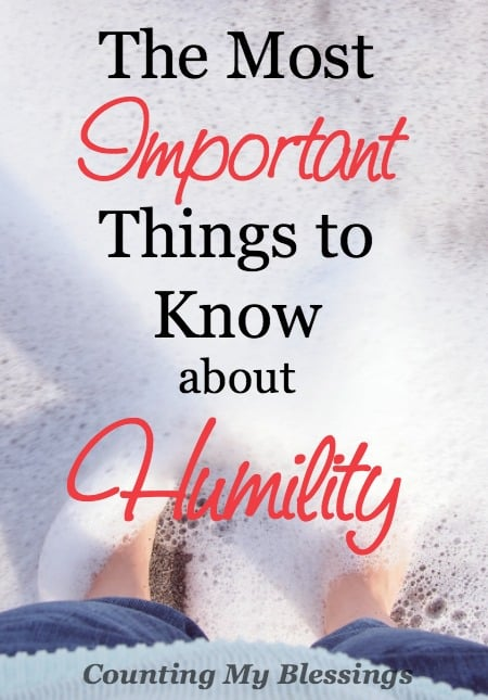 I had two goals for this month-long look at humility. Here's what you need to know about humility.