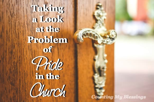 If you expect more genuine humility within the walls of the church than anywhere else, you'll be disappointed. Let's talk about pride in the Church.