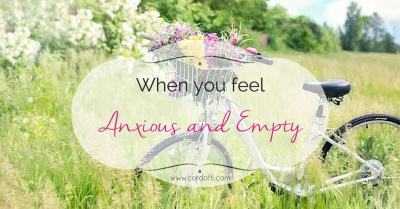 When You Feel Anxious and Empty