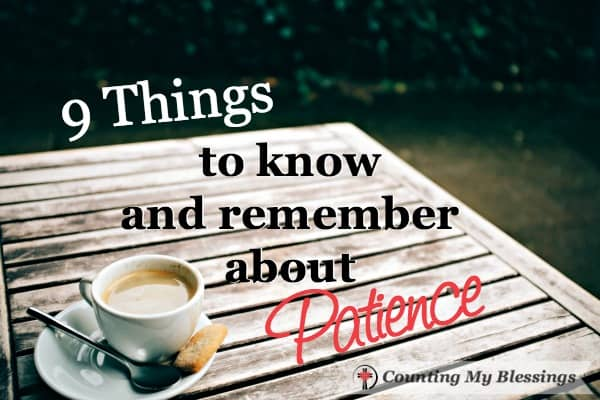 All in one place tips to help me remember patience goals & continue to practice them. Especially when people are annoying or times are tough.