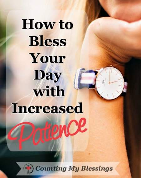 I don't like to wait and I really don't like to be late. Are you impatient? Here are some tips and benefits to living each day with increased patience.