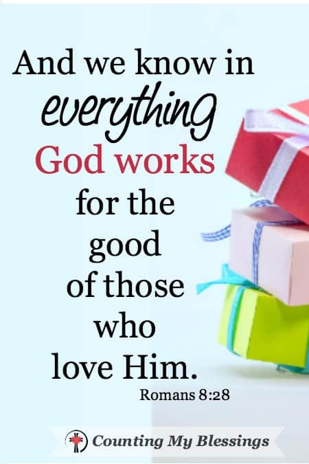 God's Gifts are always good!