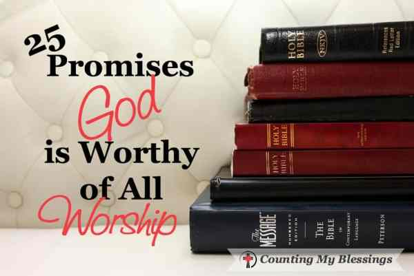"""Who is the God you and I worship? The """"I AM."""" The One who insists He alone is worthy of our worship and praise. I want to know, don't you? God is worthy..."""