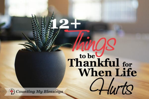 "You and I can be thankful ""whatever happens."" Not thankful for ""whatever"" but thankful for countless other blessings in the midst of ""whatever."""