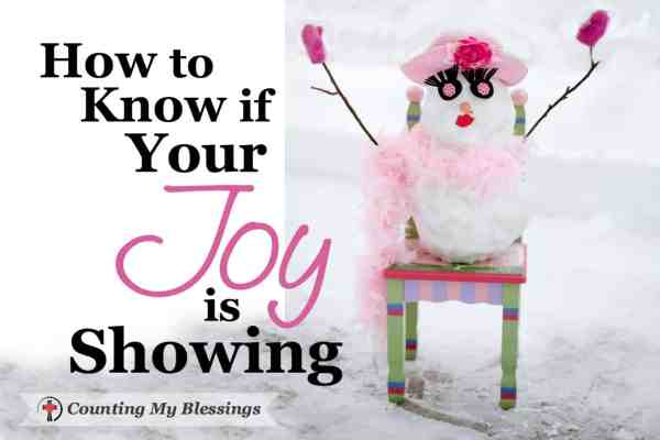 Joy-filled people are different. They're the kind of people with whom we want to spend our time. So, it's time to ask . . . is your joy showing?