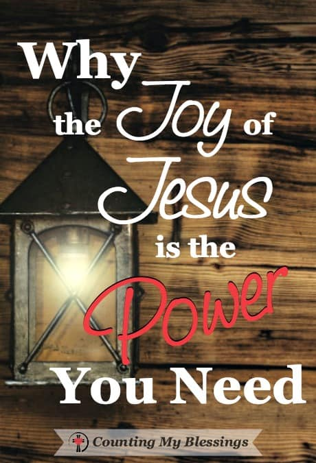 Jesus gives joy even in life's worst moments. The ones where we've finally come to the end of ourselves, broken and surrendered. And that's power we ne