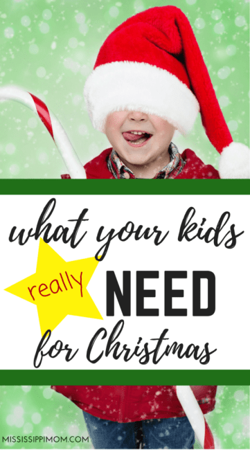 What Your Kids Really Need for Christmas by Charlie White