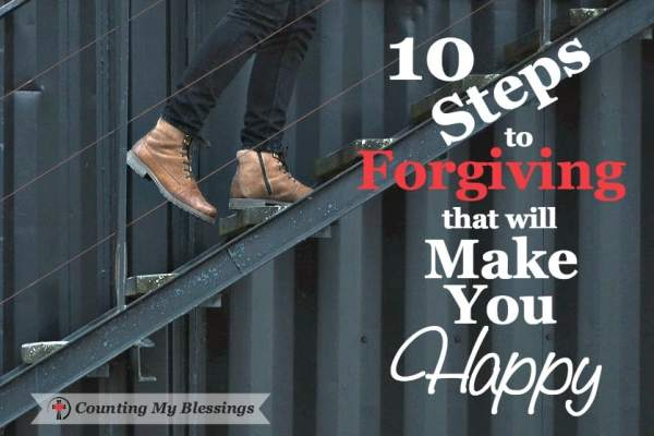 Relationships are complicated and forgiving each other is one of the hardest parts. So, I've listed 10 steps to forgive, move on, and be happy.