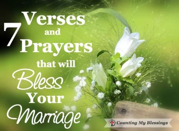 7 verses and prayers that will bless your marriage adventure