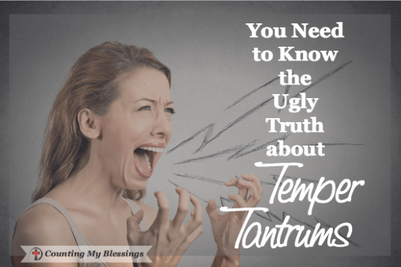 Temper tantrums are unattractive in children and downright ugly in adults. Here's help to control your temper and bless your relationships.