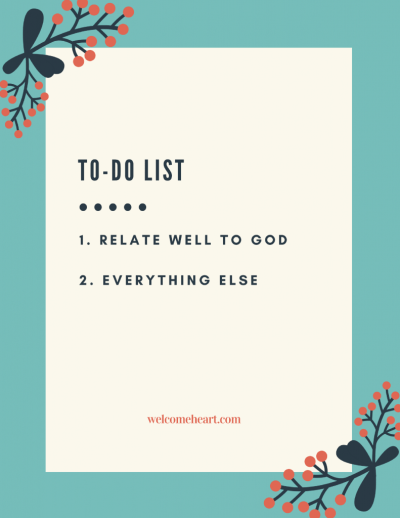 To Be or Not To Be: How to Relate Well to God by Sue Donaldson