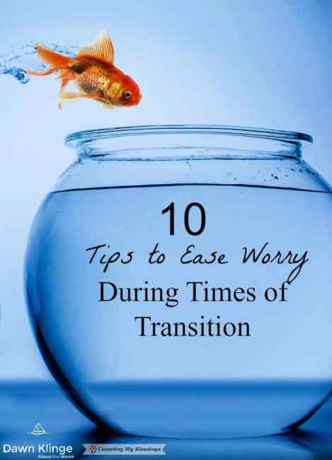 10 practical steps that will help to ease worry when a problem is weighing heavily on your mind or you're faced with uncertainty and change.