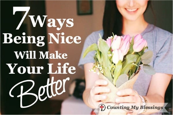 There are countless reasons for being nice and yet it's so easy for us to get self-absorbed and forget the emotional needs of others.