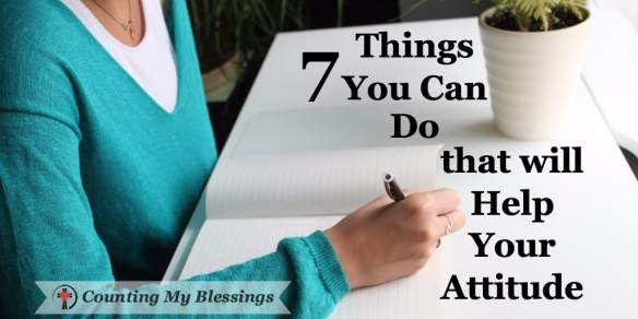 7 Things You Can Do that will Improve Your Life - Counting My Blessings