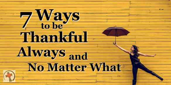 What if thankfulness is a way to live not just a way to feel? What if it's a way of life? #Thanksgiving