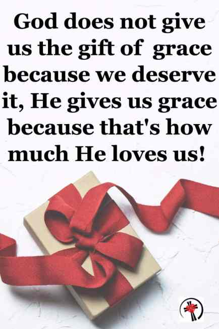 I knew grace saved me, what I didn't trust was that it was a beautiful, undeserved amazing gift - Prayers that thank God for His gift of grace. #AmazingGrace #Blessings