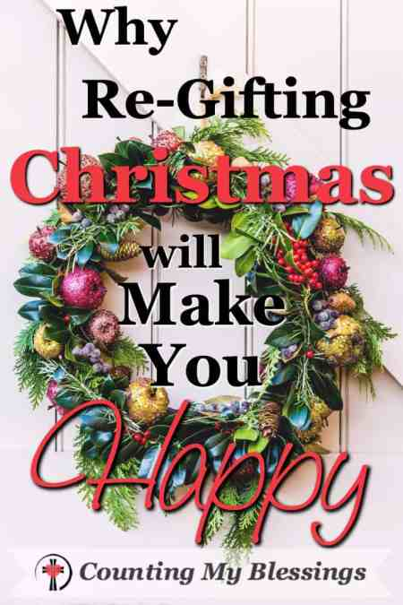 Who will you Re-Gift Christmas to this week? Plenty of time yet.You don't need to invite the whole neighborhood, but you might. #Hospitality