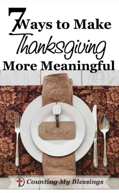 What if a few adjustments in your Thanksgiving Day gathering could help you enjoy your day and experience a deeper sense of gratitude for the blessings. #Thanksgiving #Family #ConversationStarters