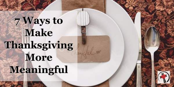 What if a few adjustments in your Thanksgiving Day gathering could help you enjoy your day more.