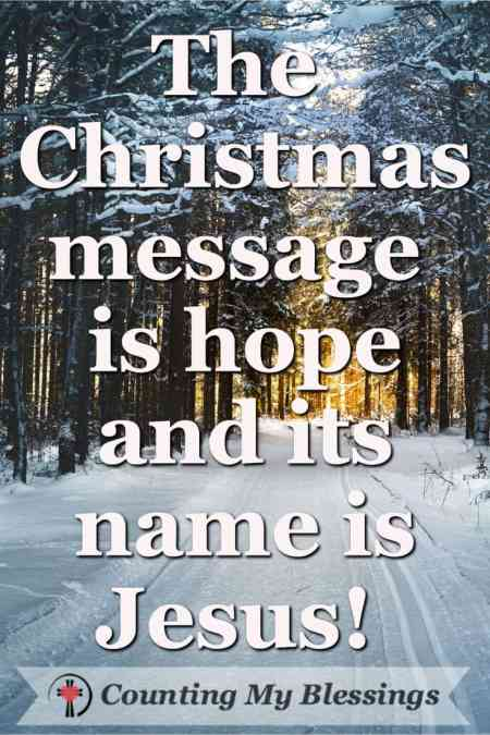 20 Quotes that Celebrate Jesus, the Gift of Hope #Christmas #Faith #Jesus