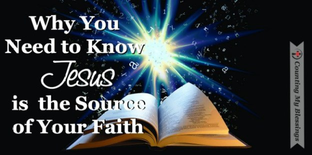 """""""Who or what is worthy of my confidence and trust?"""" It's not enough to just know you believe. You need to know the what or who - the source of your faith. #Jesus #Faith #Believe"""