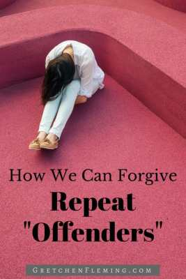 """How We Can Forgive Repeat """"Offenders"""" by Gretchen Fleming"""