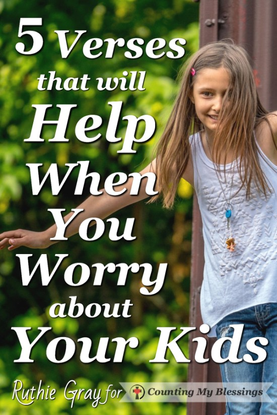 You'd like to keep them safely protected in their rooms. It's hard when you worry about your kids. We all do it! These verses and promises will help... A Post by Ruthie Gray Part of the Summer Sizzle Blog Hop
