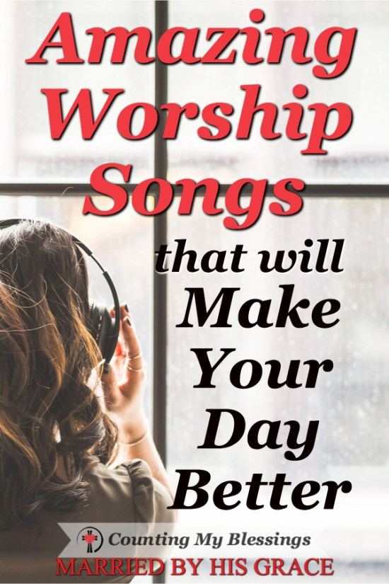 There is nothing better than listening to one of your favorite worship songs to get your mind off your problems and make your day better. #SummerSizzleBlogHop #Worship