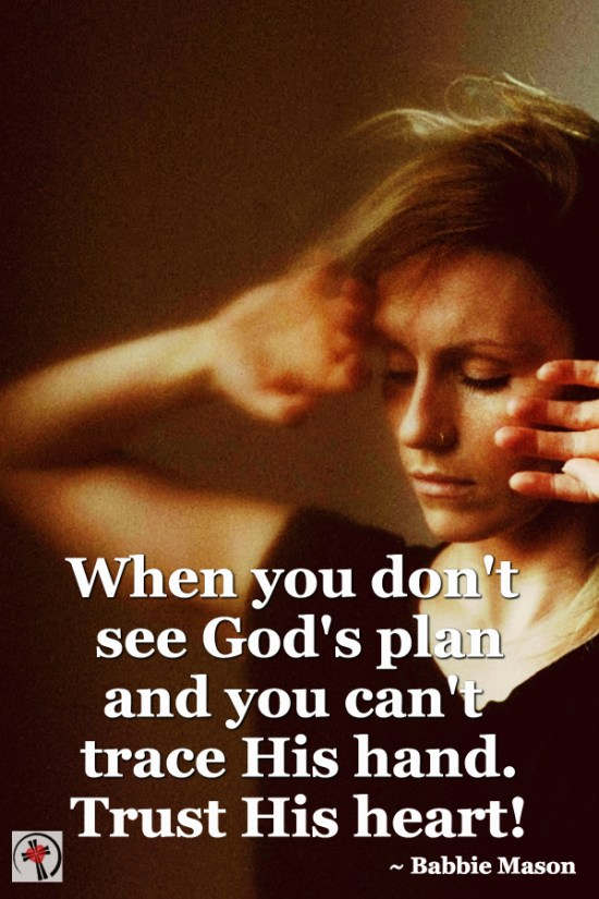 How to Trust God's NO When You are Suffering by Deb Wolf at Counting My Blessings