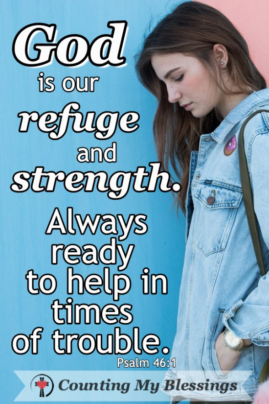 ay When You Need to Remember God's Strength and Peace by Deb Wolf @ Counting My Blessings #Prayer #Faith #Hope
