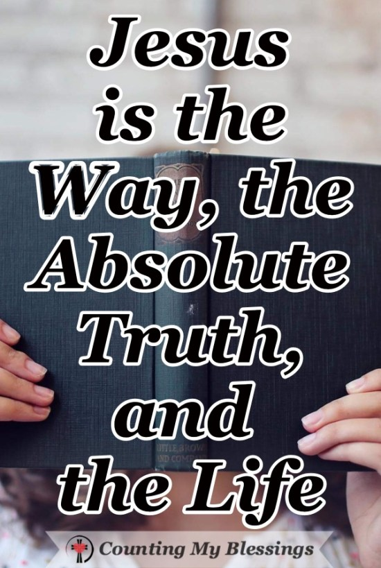 Is there an absolute truth that is the same for all people, everywhere ... always. If there is, don't you want to know what it is? #Truth #Jesus #Bible