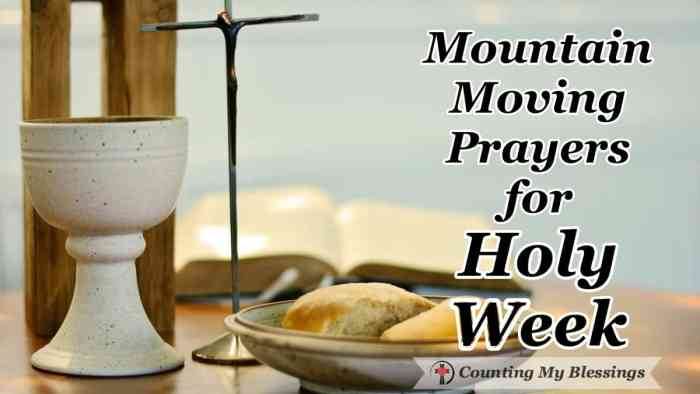 I want anything is possible mountain moving faith inspired by all Jesus has done for me through His suffering, death, and resurrection ... Holy Week. I'm asking God to use this time to grow my #faith. #Prayer #BibleStudy #BlessingBloggers