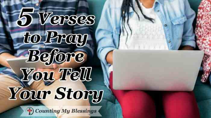 5 verses and prayers to help you be prepared to tell your story with gentleness and respect ... not to be right but to share God's love. #Prayer #SocialMedia #BibleStudy #VersestoPray #CountingMyBlessings #faithblogger