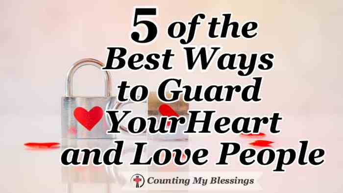 Learn how to guard your heart while remaining open and vulnerable ... but do it with God's help, wisdom, and discernment. Awesome relationship advice! #Relationships #Friendship #KnowtheTruth #FaithLife #Blessings