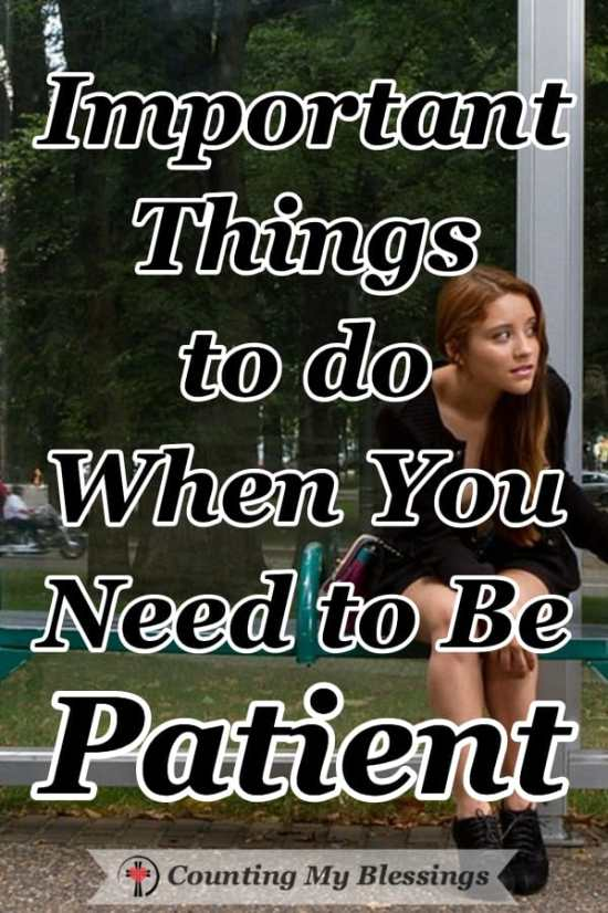 You and I are always waiting for something and it's hard to be patient when the wait gets long. Here are some do's and don'ts that will help. #PatienceQuotes #BePatient #Faith #Howto
