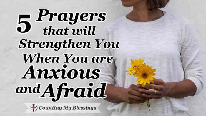 There is a spiritual battle going on around us that can make us anxious and afraid but God is greater than our fear. He is able to give us His peace. #OvercomingFear #InnerPeace #FeelingAnxious #Prayer