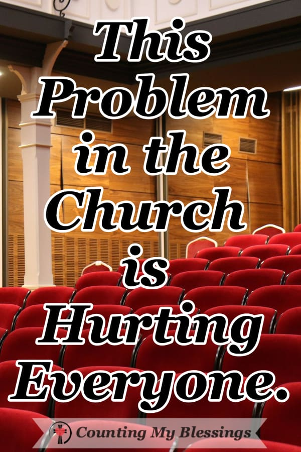 When God's people take sides barking and biting at each other, we hurt the message of Christ. It's a problem in the church that hurts everyone. #churchproblems #churchdivision #churchleaders #Jesus #Faith
