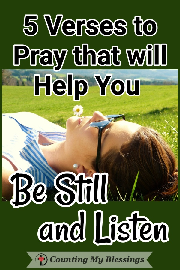 Sometimes when busyness gets in the way you and I need God's help to remember to just be still and listen for His quiet voice to fill us with His peace. #God'speace #BestillandKnow #TrustGod #Prayer #Hope #WWGGG #CountingMyBlessings