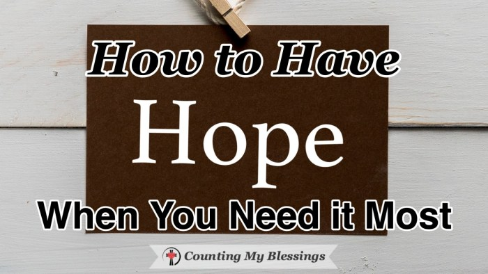 "We all need to have hope. Not ""pie in the sky by and by"" unrealistic optimism but a realistic view of the current situation and the belief that it will pass. #Faith #Hope #CountingMyBlessings #WWGGG"