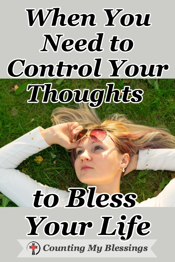 What you think has a huge effect on your life. You're not stuck with whatever pops into your head ... you can control your thoughts and improve your life. #PositiveThoughts #Faith #WWGGG #CountingMyBlessings #HisGraceGirls