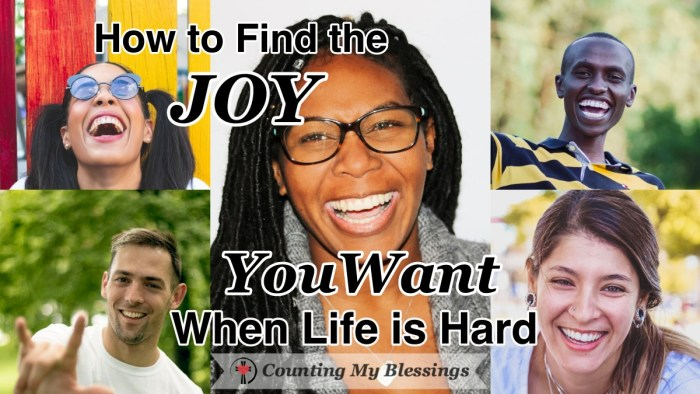 The Bible tells us to find joy even when we are facing problems. How is that even possible? Let's takes a look at what the Bible says about having joy. #Joy #WWGGG #MondayMorning #CountinMyBlessings #FindingMyJoy