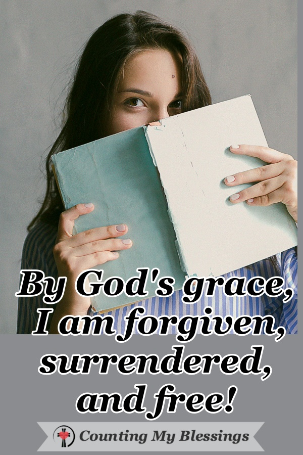 The enemy of God's children wants them to believe they're good and God's holding out on them. But by God's grace, I found the truth to live free and forgiven. #Jesus #BibleStudy #Faith #Blessings #WWGGG