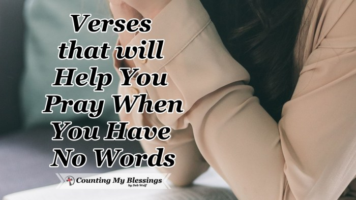 When you have a need but you are overwhelmed and you can't find the words to pray. Here verses and prayers when you need help to pray. #Prayer #HowtoPray #BibleQuotes #CountingMyBlessings #WWGGG