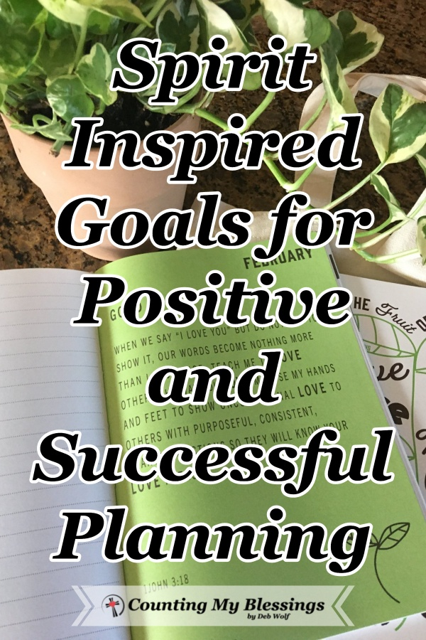 A great planner and tips for setting Spirit inspired goals and planning so you can enjoy more peace and live with success. #spiritualseedsplanner #spreadtheseeds #weeklyplanner #faithplanner #ledbythespirit #SpiritInspired #CountingMyBlessings #WWGGG
