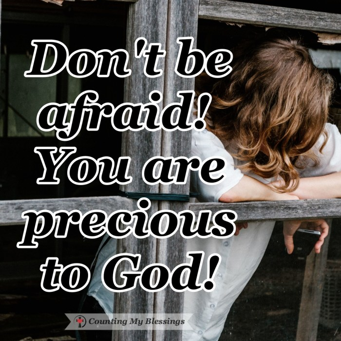"Jesus said that His followers should anticipate being persecuted but He also said . . . ""do not be afraid."" He wants you to know you are precious to God! #ChristianPersecution #BibleStudy #Faith #Godlovesyou #CountingMyBlessings #WWGGG"