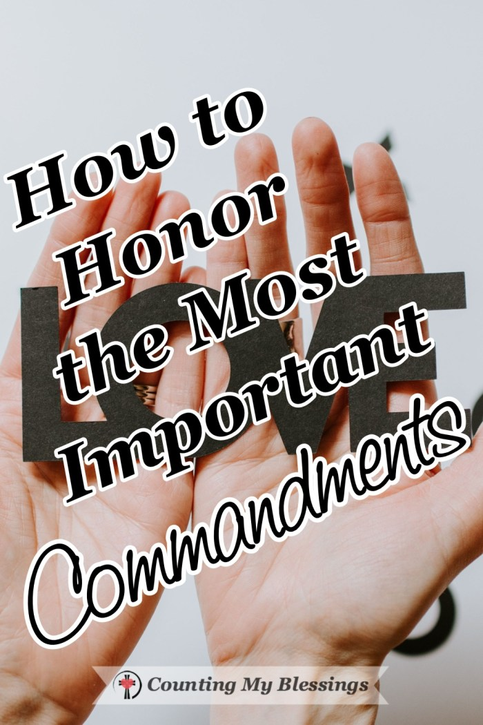 Jesus took the 10 Commandments and in two short statements told His followers about the importance of loving and why it is the most important commandment. #Jesus #Commandments #Faith #BibleStudy #Prayer #CountingMyBlessings #BlessingBloggers #WWGGG