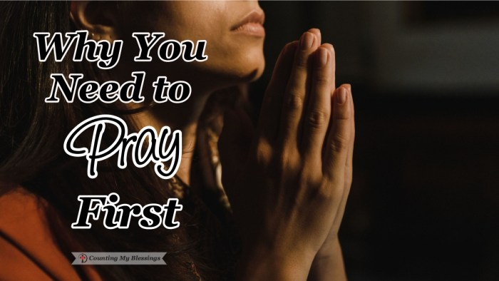 "Jesus taught His disciples how to pray and He showed them it is important to pray first to equip them to live with the faith they need to ""go and tell."" #Faith #BibleStudy #Prayer #ReadtheBible #CountingMyBlessings #BlessingBloggers"